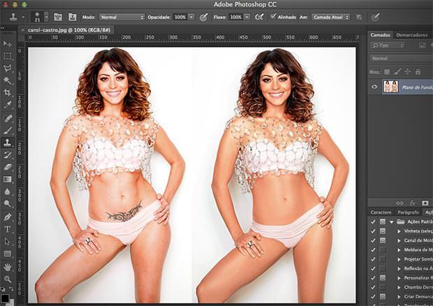 lindas produzidas no Photoshop