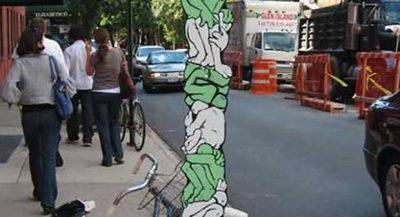 Graffiti: Arte de Rua + desenhos em estilo 3D