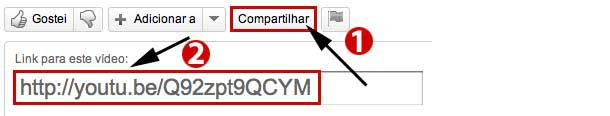 URL do YouTube