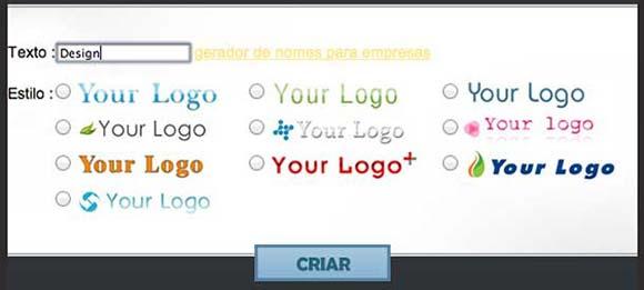 Logotipos grátis pela internet