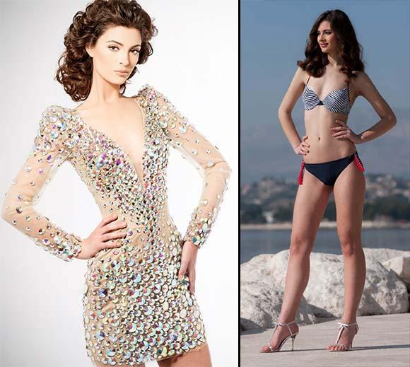 Miss Croácia 2012 - Elizabeta Burg