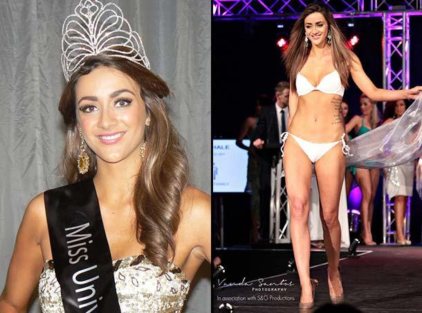 Miss Grã-Bretanha 2012 - Holly Hale