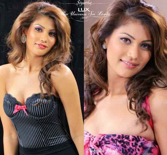 Miss Sri Lanka 2012 - Sabrina Herft
