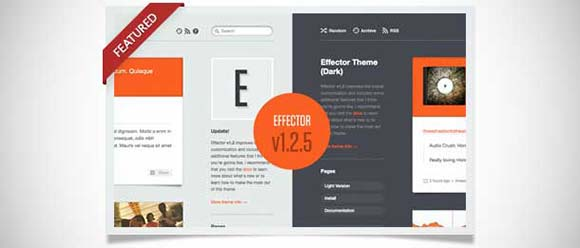 Effector Theme tumblr