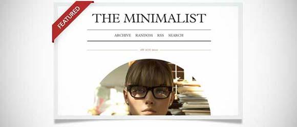 The Minimalist tumblr theme