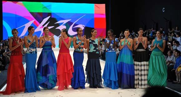 Candidatas a Miss Mundo 2012 na etapa Top Model