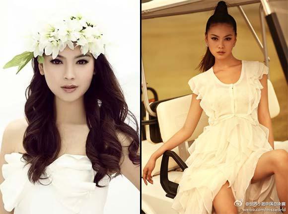 Miss Mundo China 2012 - Wen Xia Yu