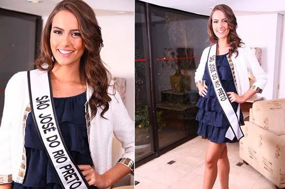 Francine Gomes - Miss São José do Rio Preto