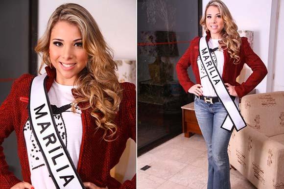 Julia Menino - Miss Marília