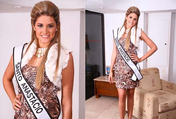 Raissa Belluzzo - Miss Santo Anastácio
