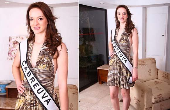 Samanta da Cruz - Miss Cabreúva