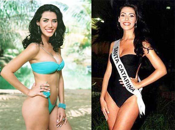 Miss Brasil 2002 - Taíza Thomsen