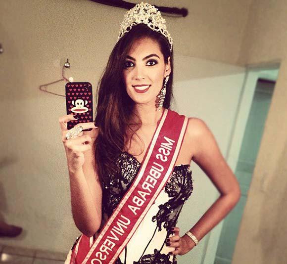 Thiessa Sickert é a Miss Minas Gerais 2012