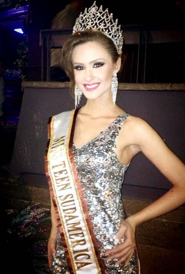 Miss Sudamerica 2012 Amanda Paggi