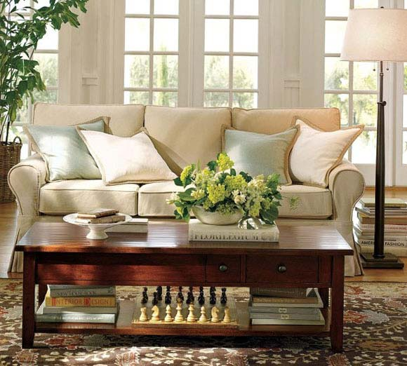 decoracao de interiores estilo handmade:Living Room Table Decor Ideas