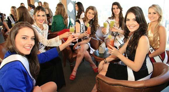 Candidatas a Miss São Paulo 2012