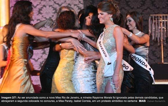 Rayanne ignorada pelas outras candidatas