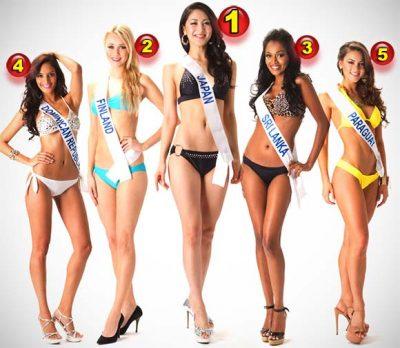 Miss Internacional 2012 é a Miss Japão, Ikumi Yoshimatsu