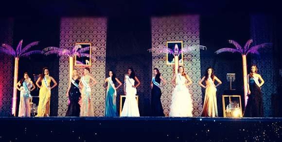 TOP 10 Miss Rio de Janeiro 2012