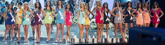 Top 16 do Miss Universo 2012