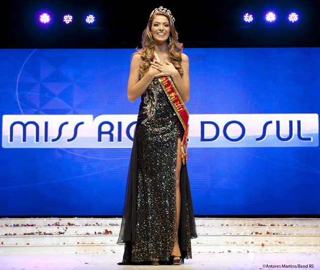 Miss Rio Grande do Sul 2013 Vitória Centenaro Sulczinski