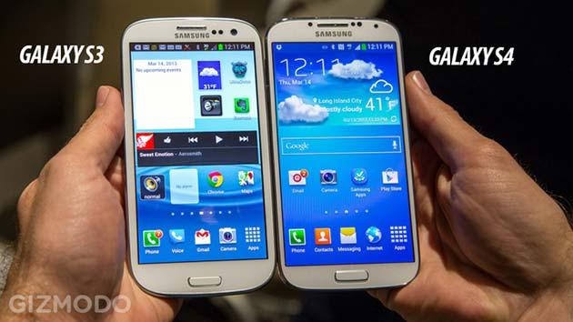 Samsung Galaxy S 3 e 4