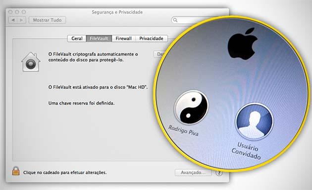 FileVault Mac OS X