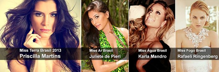 Resultado Miss Terra Brasil 2013