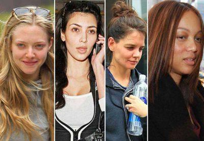 As mulheres mais lindas do mundo sem maquiagem!