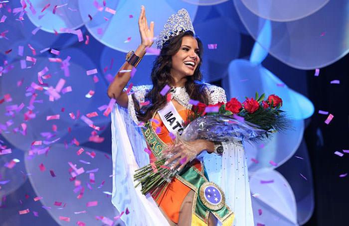 Jakelyne Oliveira - Miss Brasil 2013 - Foto: Carol Gherardi/ Band