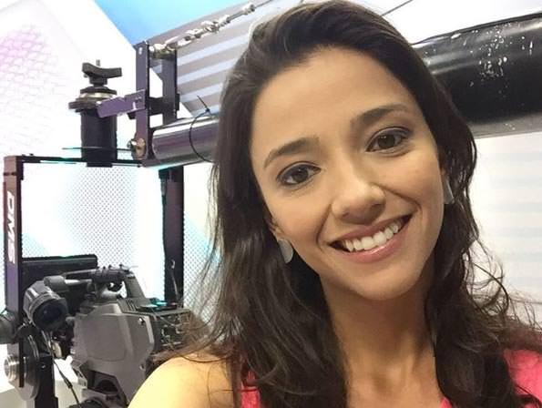 Foto da jornalista Maíra Lemos