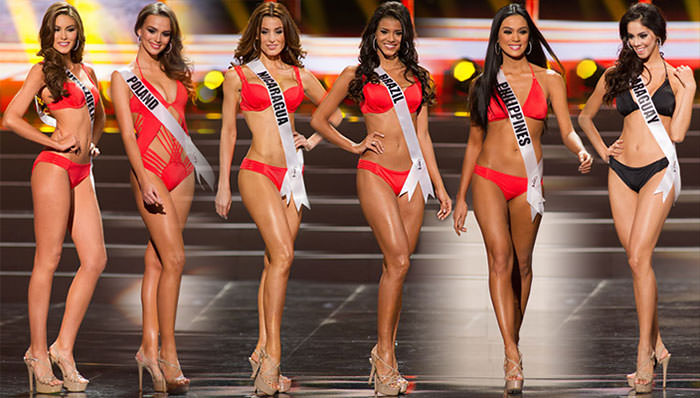 Desfile Preliminar do Miss Universo 2013