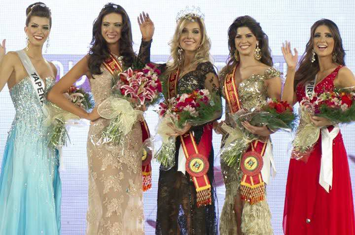 Top 5 Miss Rio Grande do Sul 2014