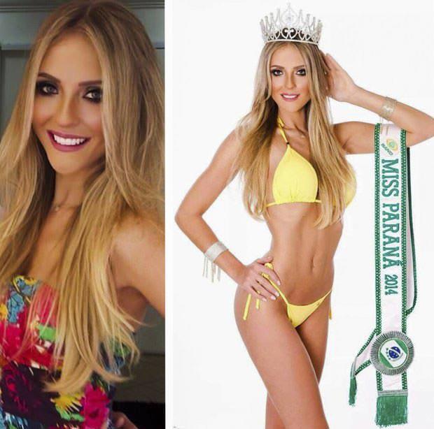 Fotos da Miss Paraná Nathaly Goolkate