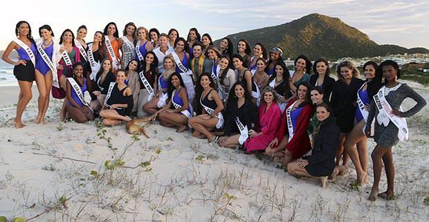 Candidatas a Miss Mundo Brasil 2014