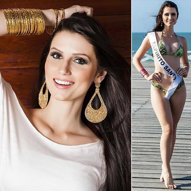 Fotos da Miss Espírito Santo Amanda Recla