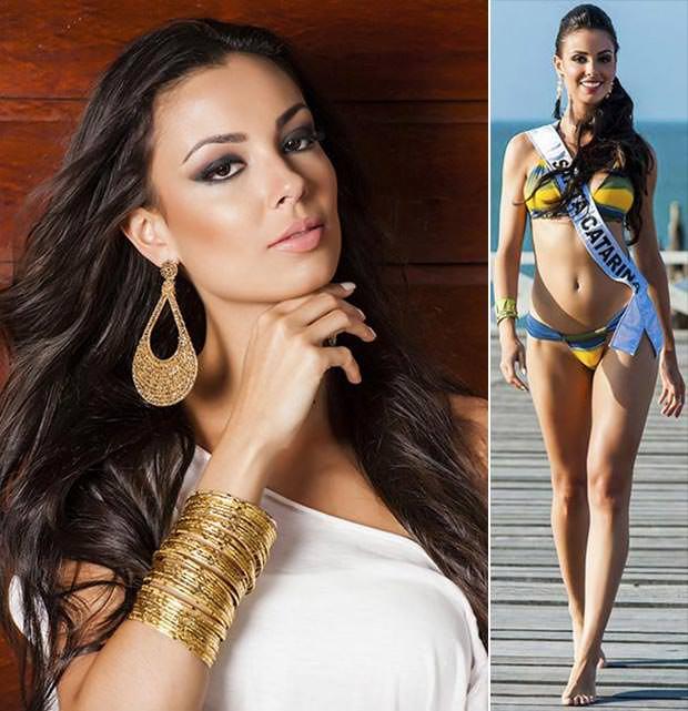 Fotos da Miss Santa Catarina Laura Lopes