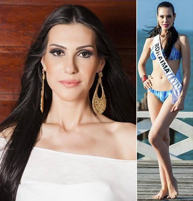 Fotos da Miss Roraima Marina Pasqualotto