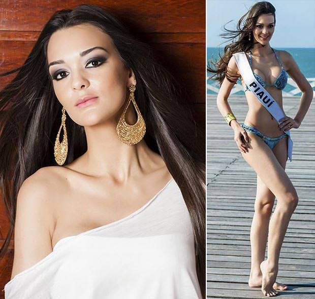Fotos da Miss Piauí Verbiany Leal
