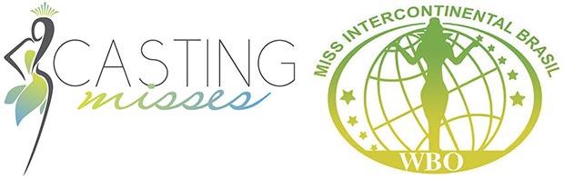 Logos da Casting Misses e do Miss Intercontinental Brasil