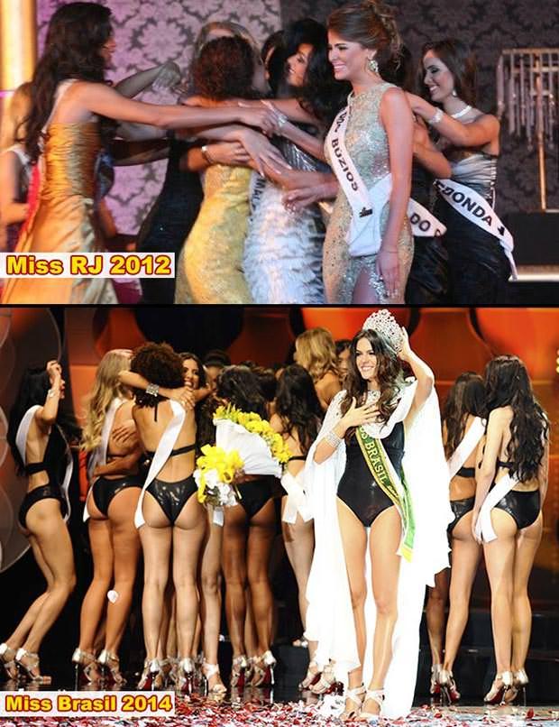 Resultado Miss RJ e Miss Brasil