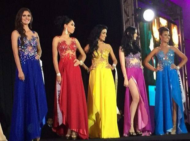 Miss Amazonas 2015 TOP 5
