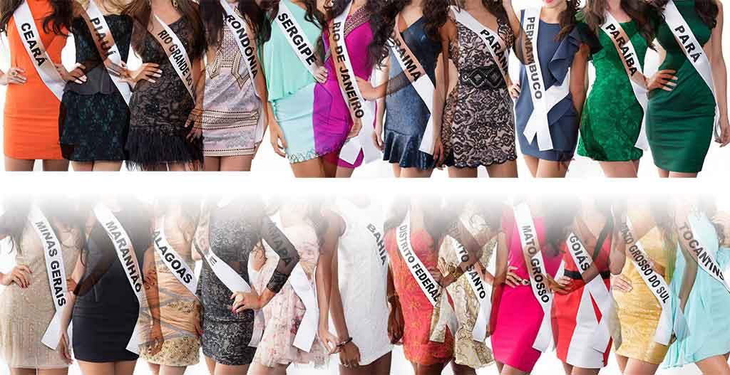 Estaduais do Miss Brasil 2015