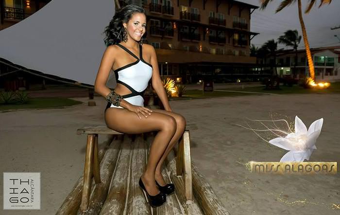 Candidata a Miss Alagoas 2015