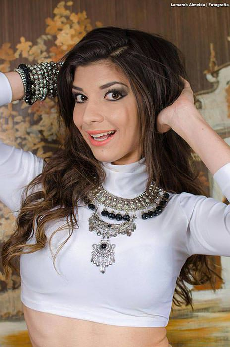 Candidata a Miss Paraíba 2015