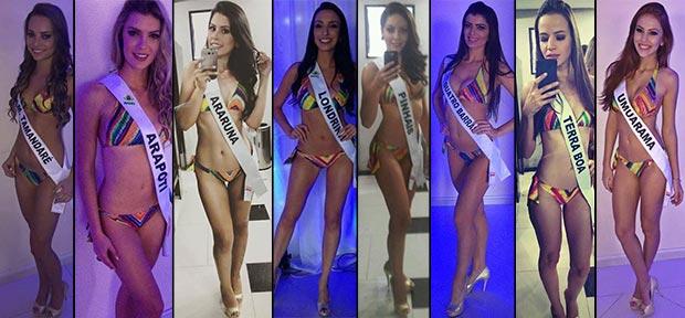 Bastidores Miss Paraná 2015