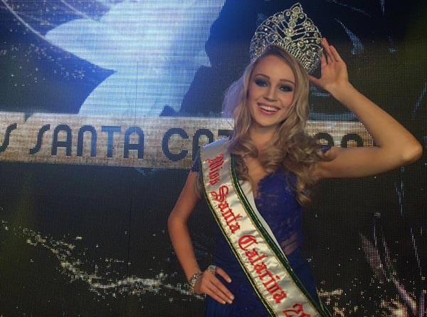 Sabrina Meyer Miss Santa Catarina Universo 2015