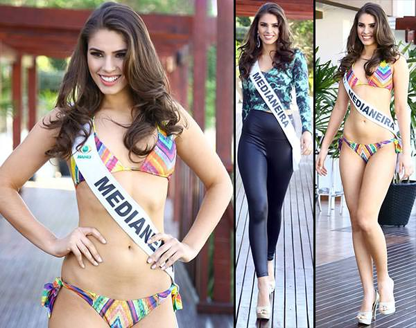 Gabriela Gallas Miss Paraná 2015