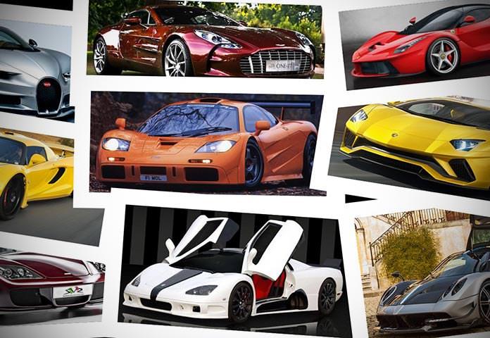 Carros mais rápidos e caros do mundo