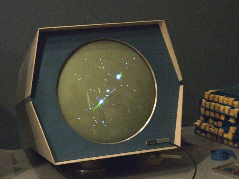 Tela do Spacewar